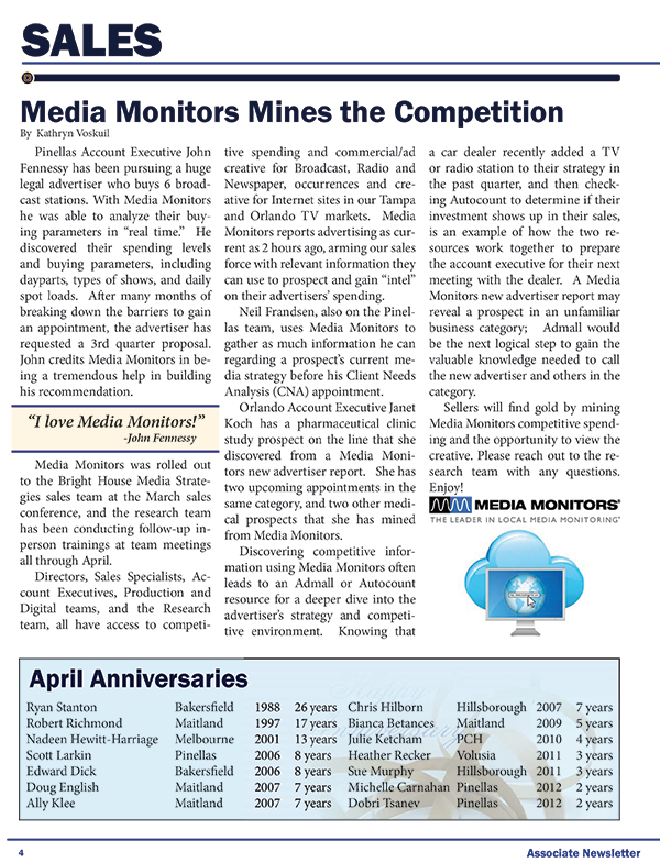 Media Monitors Mines the Competition