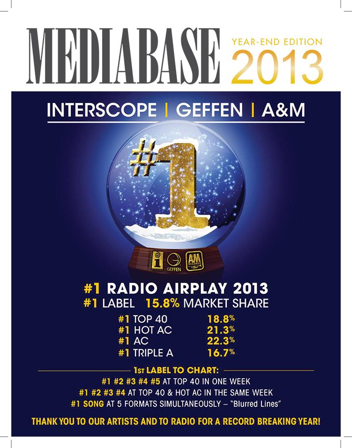 Mediabase Year-End 2013